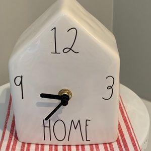 Rae Dunn HOME Birdhouse Clock